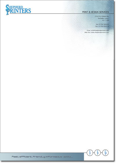 Letterhead Full Colour